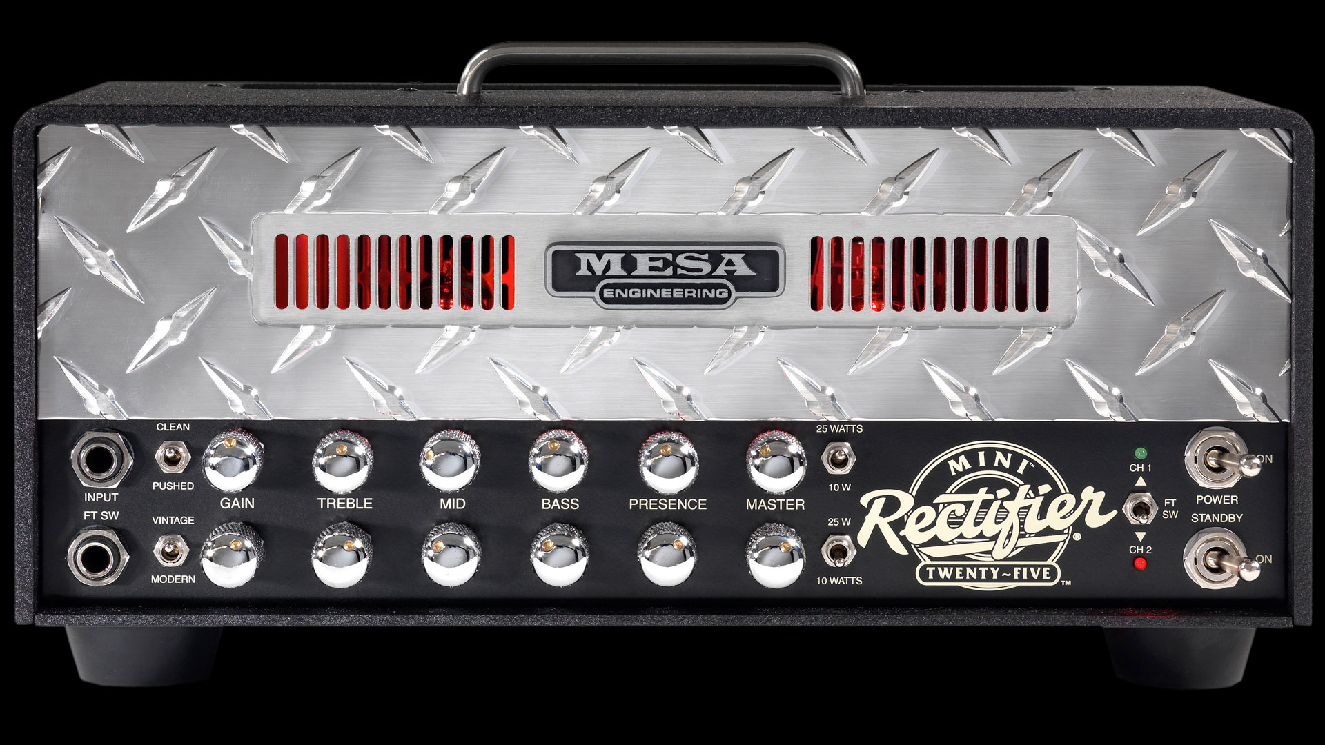Mini Rectifier 25 All Tube 2 Channel Metal Chassis Head Many Parts Of Mesa Boogie Dual Solo Schematic Diagram Out