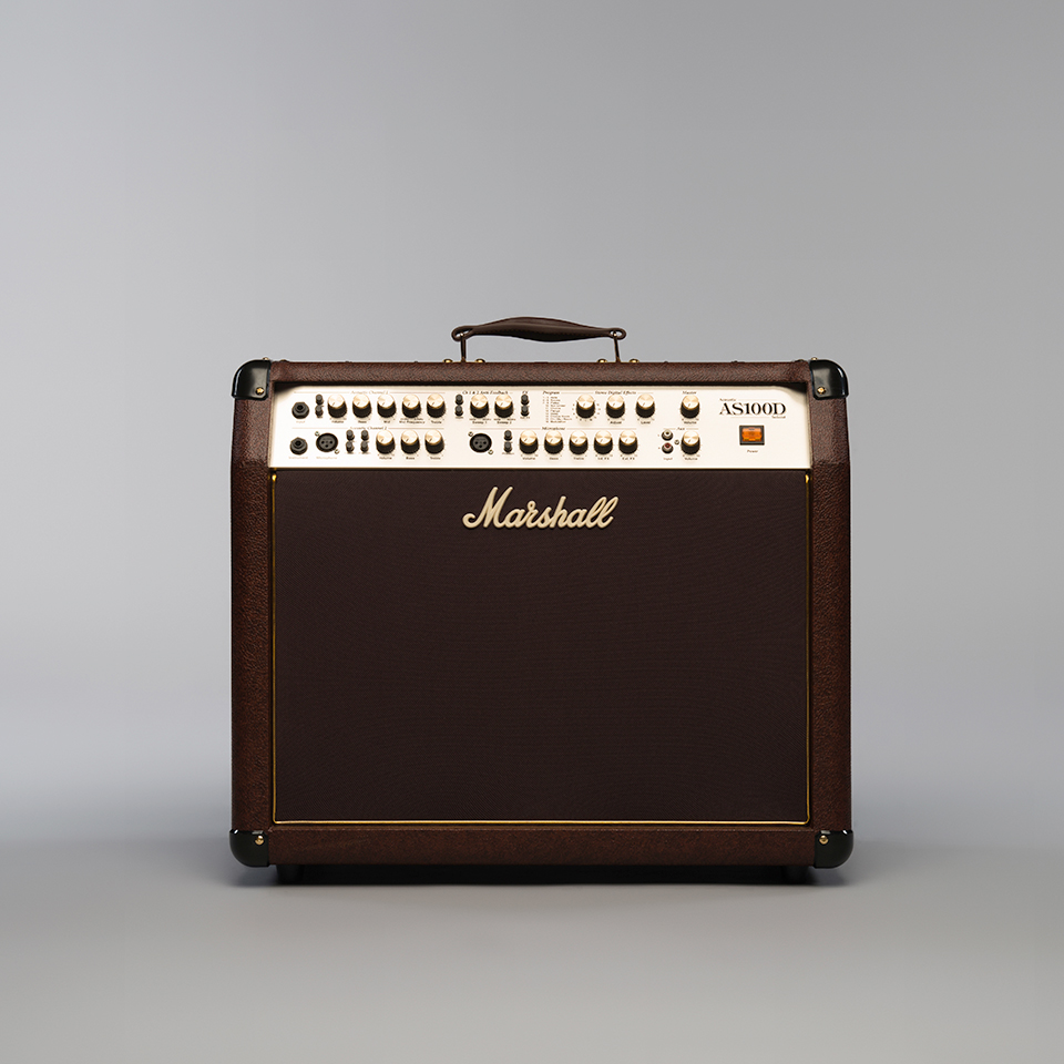 marshall as100d 100 watt acoustic amplifier. Black Bedroom Furniture Sets. Home Design Ideas