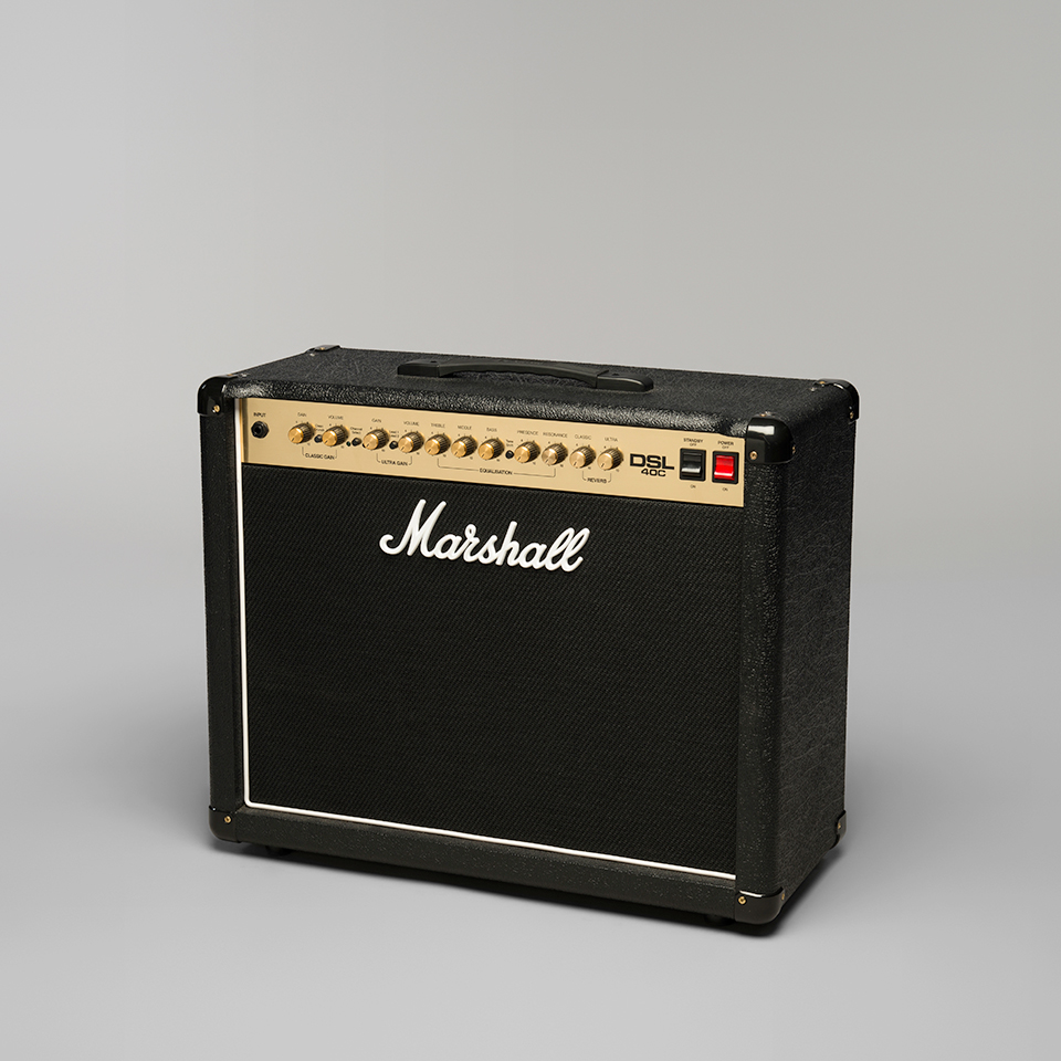 marshall dsl40c electric guitar amplifier. Black Bedroom Furniture Sets. Home Design Ideas